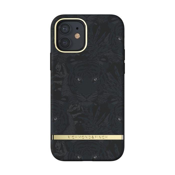 Richmond & Finch Black Tiger Mobilskal för iPhone 12 och 12 Pro