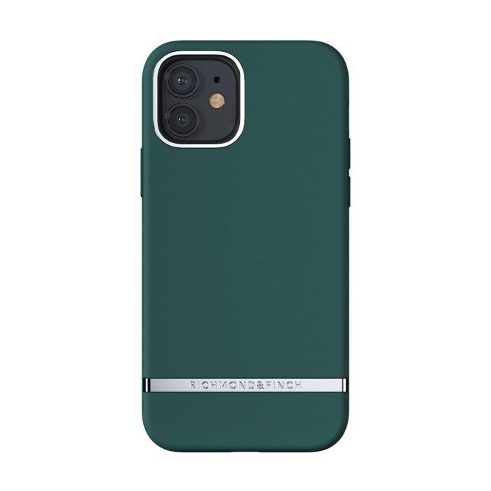 Richmond & Finch Forest Green Mobilskal för iPhone 12 och 12 Pro