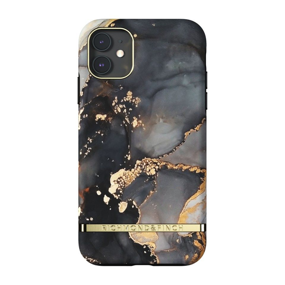 Richmond & Finch Gold Beads Mobildeksel for iPhone 11