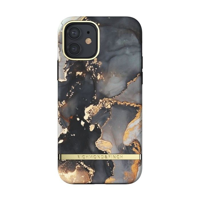 Richmond & Finch Gold Beads Mobilskal för iPhone 12 och 12 Pro