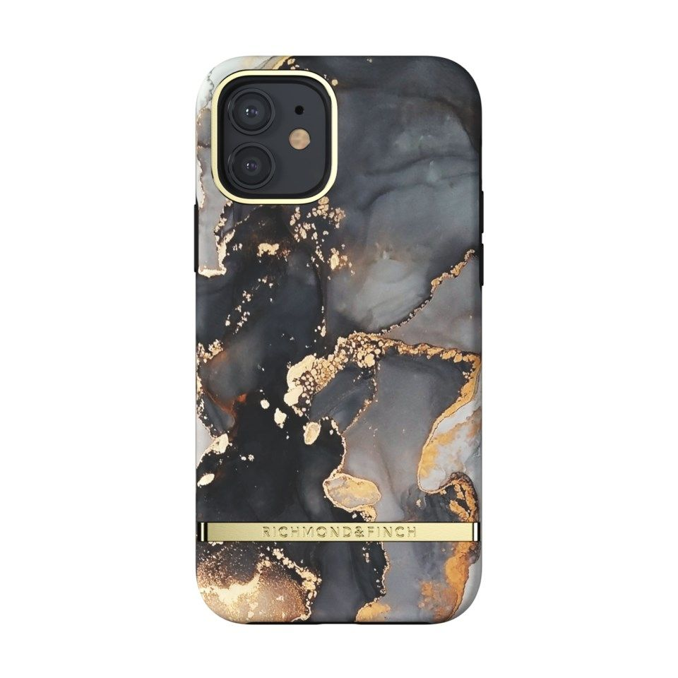 Richmond & Finch Gold Beads Mobildeksel for iPhone 12 og 12 Pro