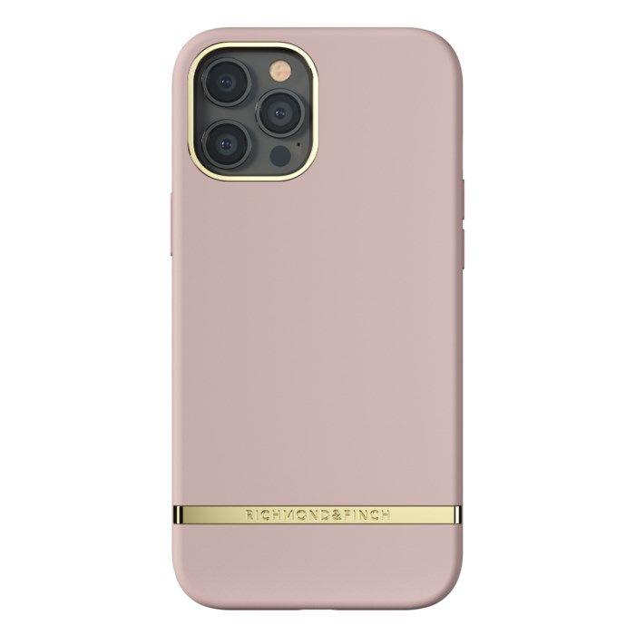 Richmond & Finch Dusty Pink Mobilskal för iPhone 12 Pro Max