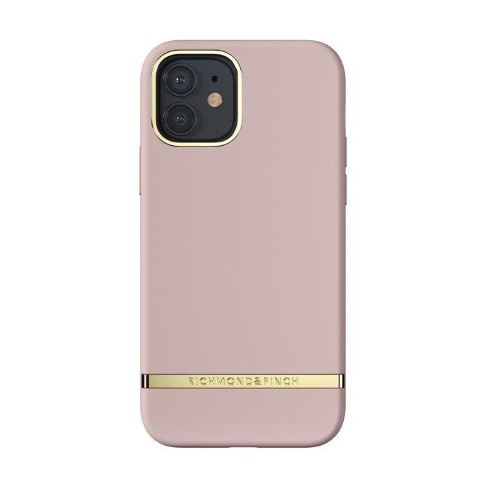 Richmond & Finch Dusty Pink Mobilskal för iPhone 12 och 12 Pro