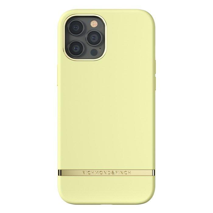 Richmond & Finch Limone Mobilskal för iPhone 12 Pro Max