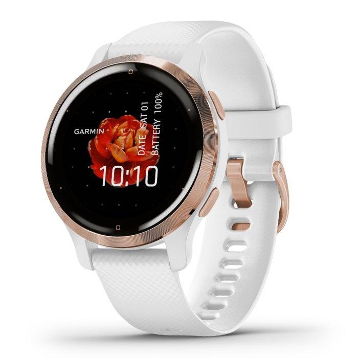 Garmin Venu 2S Smartwatch Rosé/Vit