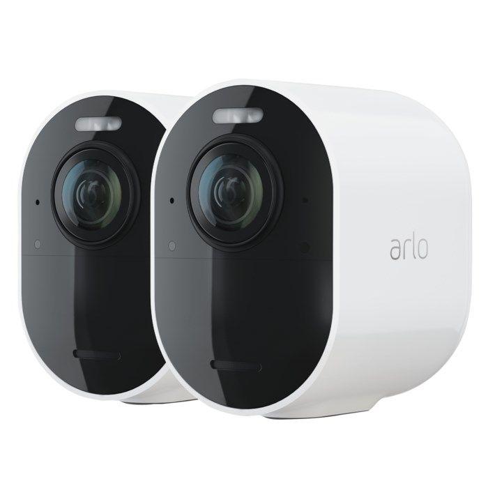 Arlo Ultra 2 Spotlight Extra övervakningskamera 2-pack