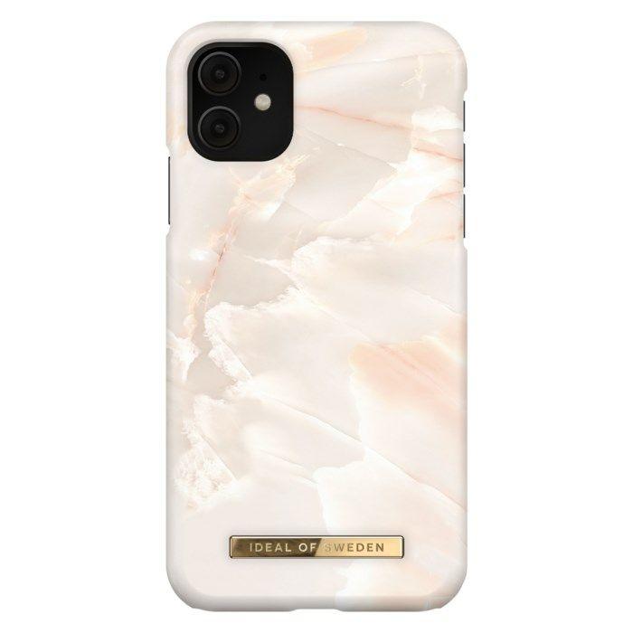 IDEAL OF SWEDEN Mobilskal för iPhone 11 och XR Rose Pearl Marble