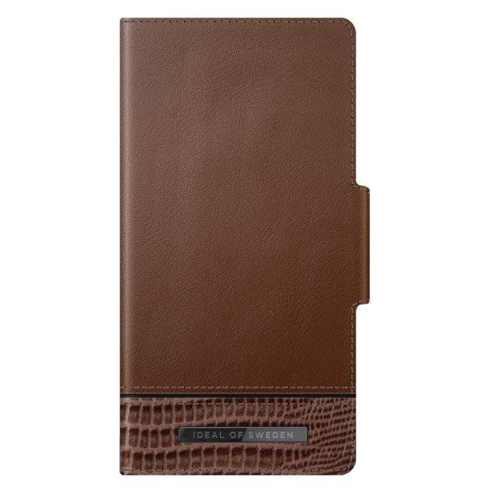 IDEAL OF SWEDEN Wild Cedar Magnetisk mobilplånbok för iPhone 12 och 12 Pro