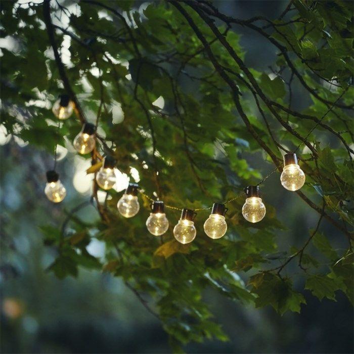 Partaj Solar Solcellsdriven ljusslinga 10 LED