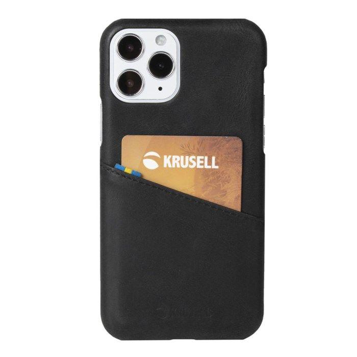 Krusell Plånboksskal för iPhone 12 Mini Svart