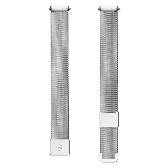 Fitbit Luxe Armband i rostfritt stål Platinum