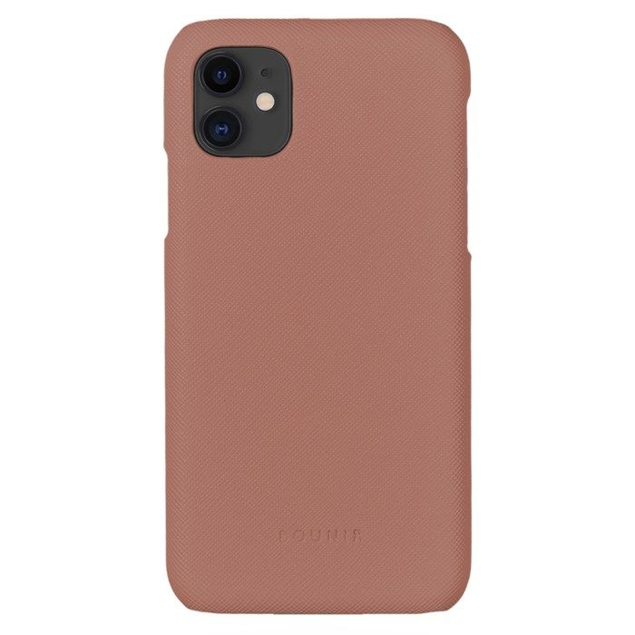 Bounir Signature Case för iPhone 11/Xr Rosa