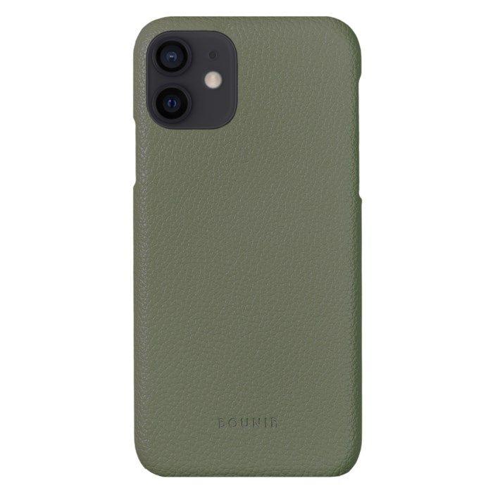 Bounir Signature Case för iPhone 12 Mini Khaki