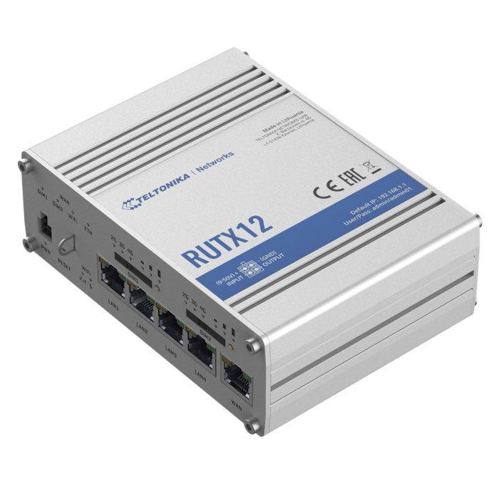 Teltonika RUTX12 Professionell 4G-router