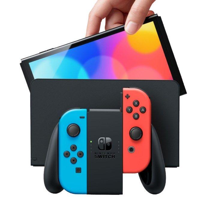 Nintendo Switch (OLED) Spelkonsol 7? Röd/Blå