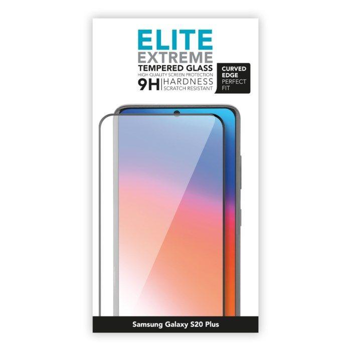 Linocell Elite Extreme Curved Skärmskydd för Galaxy S20 Plus