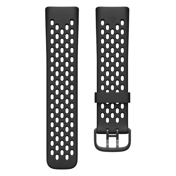 Fitbit Charge 5 Sportarmband Svart L