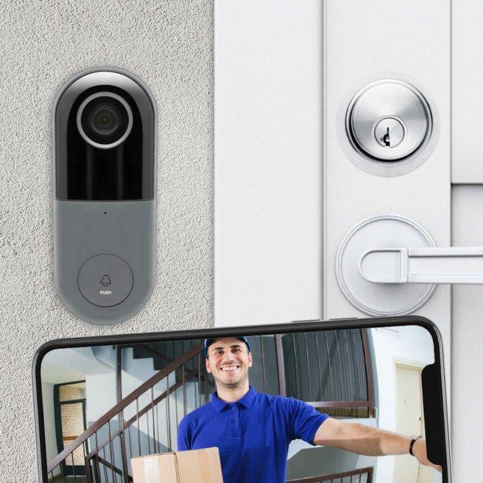 Cleverio CD-100 Smart Dörrklocka med kamera