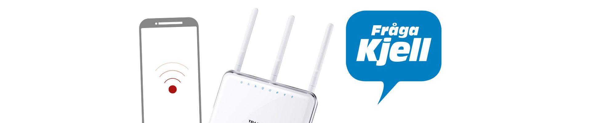 dålig täckning wifi