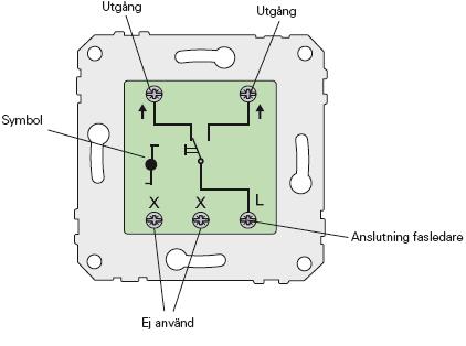Koppla in LED lampa och strömbrytare | Twostroke