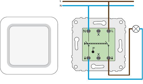 koppla in 2-vägs strömbrytare