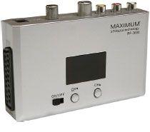 Hur ansluter jag min RF modulator